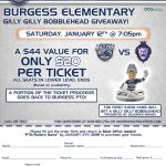 Burgess Railers Night @ DCU Center